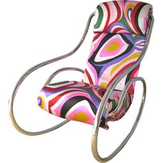 1970's pucci rocking chair