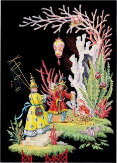 Harrison Howard, Chinoiseries: Crab Baiting