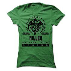 Custom Names MILLER Legend T-Shirts