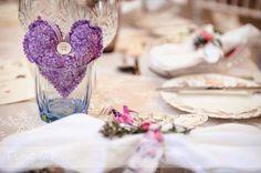 DIY Lavender Heart