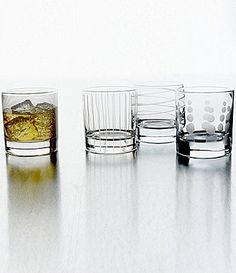 Mikasa Cheers Double OldFashioned Glass Set #Dillards