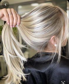Beach Blonde Hair, Blonde Hair Shades, Blonde Hair Looks, Brunette Hair, Bright Blonde Hair, Hair Color Balayage, Blonde Color, Blonde Balayage, Ombre Color