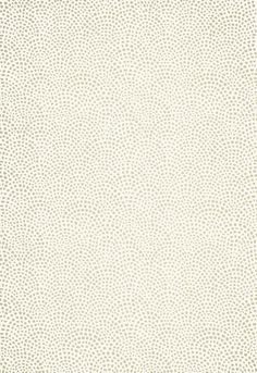 Schumacher Mosaic Wallpaper in Silver - as featured on HGTV's Sarah's House