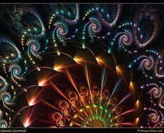 Cosmic Carnival fractal art