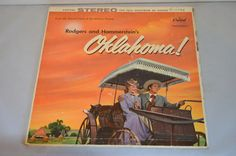 Vintage Gatefold Record Original Soundtrack: Oklahoma Album SWAO-595