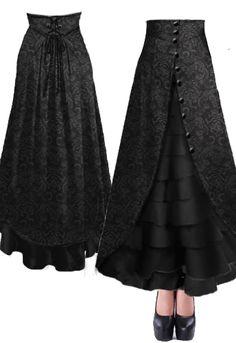 Victorian Walking Skirt --Brand Chic Star design by Amber Middaugh