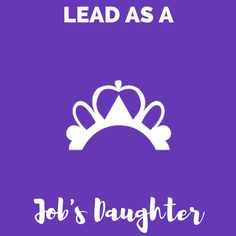 Job's Daughters International is a youth organization for girls and young women between the ages of 10-20 to foster leadership, charity, and character building.