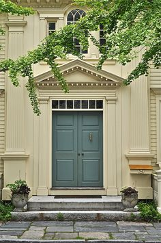 Front door in The Borough of Stonington, CT | Flickr - Photo Sharing!