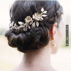 Neat! - 22 Gorgeous  Hair Updos. To see more: | CHECK OUT MORE IDEAS AT WEDDINGPINS.NET | #weddings #hair #weddinghair #weddinghairstyles #hairstyles #events #forweddings #iloveweddings #romance #beauty #planners #fashion #weddingphotos #weddingpictures