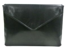 PUNCHING LEATHER CLUTCH BAG / ALL LEATHER / Men's bag
