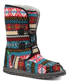 This Sanuk Magenta Horizon Boot - Women by Sanuk is perfect! #zulilyfinds