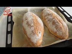 Ľahký a chrumkavý chlieb Ciabatta Po tomto recepte už nebudete kupovať chlieb najľahší doma the - YouTube Home Made Puff Pastry, Savoury Baking, Bread N Butter, Easy Bread, Pizza Dough, Naan, Bread Recipes, Baked Goods, Homemade