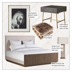"""Rustic Bedroom Decor"" by kathykuohome ❤ liked on Polyvore featuring interior, interiors, interior design, home, home decor, interior decorating, bedroom, rustic, bedroomdecor and rusticdecor"