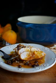 solomillos de pavo salsa de naranja 4