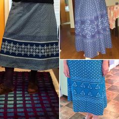 Blue North Strong and Free Japanese Sewing Patterns, Skirt Patterns Sewing, Sewing Patterns Free, Clothing Patterns, Free Sewing, Clothing Styles, South African Fashion, Africa Fashion, Wrap Skirt Tutorial