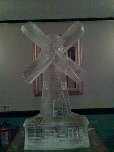 Moulin Rouge Ice Sculpture | ES Promotions