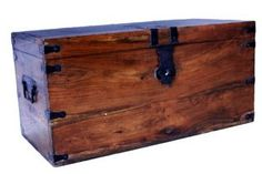 How To Make A Wooden Treasure Chest