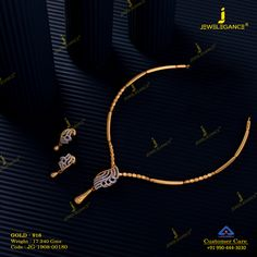 Get in touch with us on 990 444 3030 Gold Necklace Simple, Gold Jewelry Simple, Gold Wedding Jewelry, Simple Necklace Designs, Gold Chain Design, Gold Ring Designs, Gold Bangles Design, Jewelry Design Earrings, Gold Earrings Designs