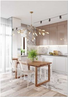 30 inspiring kitchen cabinet colors and ideas that will blow you away 36 Kitchen Room Design, Kitchen Family Rooms, Kitchen Cabinet Colors, Room Interior Design, Modern Kitchen Design, Apartment Interior, Home Decor Kitchen, Kitchen Interior, Home Kitchens