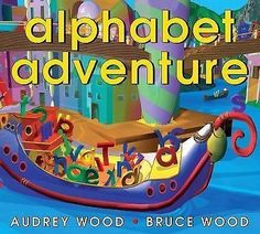 cool Alphabet Adventure by Audrey Wood (2001 Paperback) - For Sale View more at http://shipperscentral.com/wp/product/alphabet-adventure-by-audrey-wood-2001-paperback-for-sale/