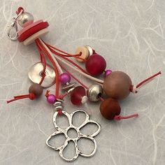 Kits Bijoux - Bijou de sac - grigri Strawberry
