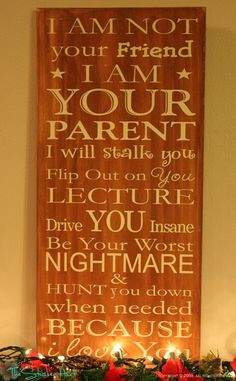 Good parenting advice.... yuppers, I have done this and will again.