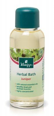 Kneipp Herbal Bath - Juniper by Kneipp. $14.72. Kneipp Herbal Bath - Juniper promotes the healthful benefits of nature. The benefits of warm baths have been know since ancient times, inspiring Kneipp to capture the purest natural herbs in the form of highly concentrated plant essential oils that interact with the natural healing and soothing powers or water. The essential oil of Juniper is known to help rid the body of toxins and stimulate circulation. It also help...