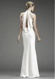 In western culture, a common bride wears a long white wedding gown