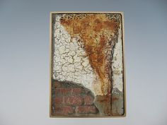 Tom McCarthy - Bronze, concrete, gold leaf, paint, rust, india ink