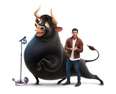 First Look! Peyton Manning and Nick Jonas Lend Their Vocal Talents to Ferdinand Ferdinand Movie, The Story Of Ferdinand, A Cartoon, Cartoon Characters, Fictional Characters, Nick Jonas Songs, Peyton Manning, Animation Film, Streaming Movies