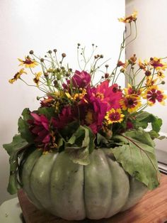 fall floral arrangements | ... centerpieces with fall flowers, creative and eco friendly fall