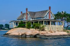 Thimble Islands in Connecticut