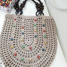 @handanin_orguleri #inspiração Amei! Ja quero ♡ #crochê #bolsadecroche #artesanato