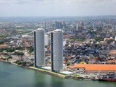 "* Recife * Pernambuco, Brasil. ""Torres Gêmeas""."