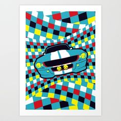 mustang Art Print by creaziz - $17.68