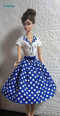 Ooak Vintage Fashion  for Barbie Silkstone by TammyRaye