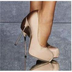 Elegant Stiletto Heels Closed Toe Women Shoes