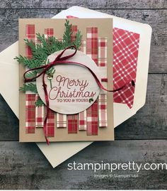 Picture only but cute card Stamped Christmas Cards, Simple Christmas Cards, Christmas Card Crafts, Homemade Christmas Cards, Noel Christmas, Christmas Greeting Cards, Greeting Cards Handmade, Homemade Cards, Holiday Cards