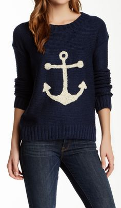 Anchor sweater, LOVE it