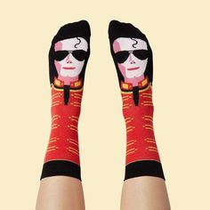 Make them smile with ChattyFeet funky socks. If you're looking for birthday present ideas, just choose a sock character to match their personality. Made in Europe from high quality combed cotton. Funny Socks For Men, Silly Socks, Funky Socks, Crazy Socks, Happy Socks, Cool Socks, Gift For Music Lover, Music Gifts, Music Lovers