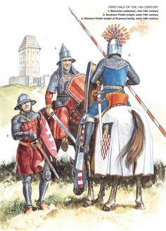 Western Polish knight of buzewoj family, early 14th century