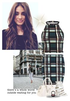 """""""There's a whole world outside waiting for you"""" by priscilla12 ❤ liked on Polyvore featuring River Island, Marc by Marc Jacobs, MAC Cosmetics and ALDO"""
