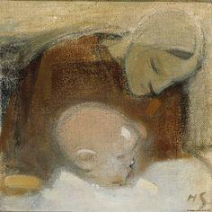 Schjerfbeck, Helene Äiti ja lapsi 1917 / Kansallisgalleria - Taidekokoelmat