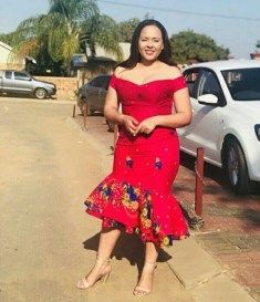 Tsonga Traditional Dresses, African Traditional Dresses, Traditional Wedding Attire, Latest African Fashion Dresses, Bride, Hair Styles, How To Wear, Fashion Trends, Wedding Bride