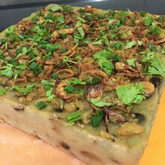 Steamed Yam Cake (orr kuih)