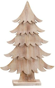 Wood Tabletop Tree 14 x 21 in. Wooden Christmas Crafts, Wooden Christmas Decorations, Pallet Christmas, Wood Christmas Tree, Christmas Items, Xmas Crafts, Outdoor Christmas, Rustic Christmas, Christmas Projects