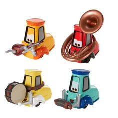 **ACHETÉ MERCI** Disney/Pixar Cars Festival Italiano Collection Uncle Topolino's Band 4-Pack Target 12.99