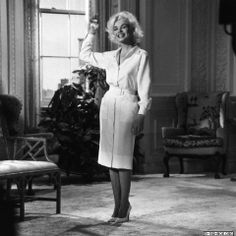 """Wardrobe test for """"Something's Got To Give"""" 1962"""
