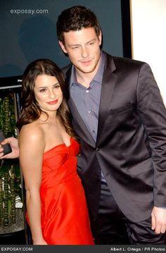 Lea Michele and Cory Monteith. R.I.P