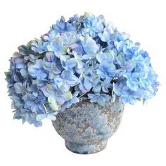 Faux Blue Hydrangea, New Growth Designs